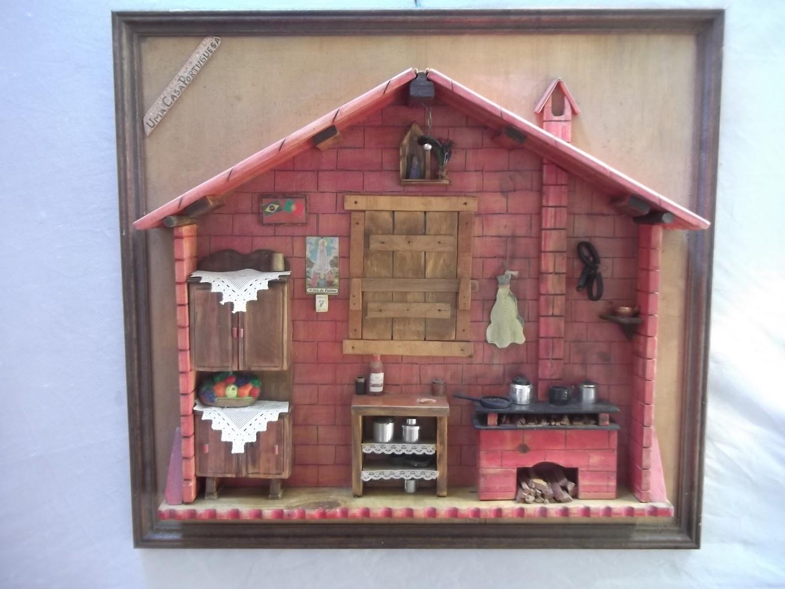 em madeira reciclada cozinha portuguesa miniatura em madeira reciclada  #8F3C46 1600x1200