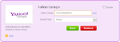 Yahoo Groups Integration