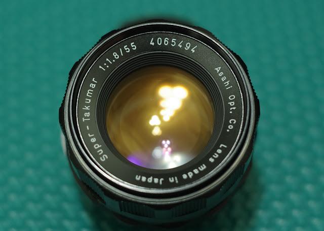 Asahi Super-Takumar 55mm f/1.8 個人隨拍試鏡(1)