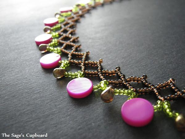 Pink Lime Collar