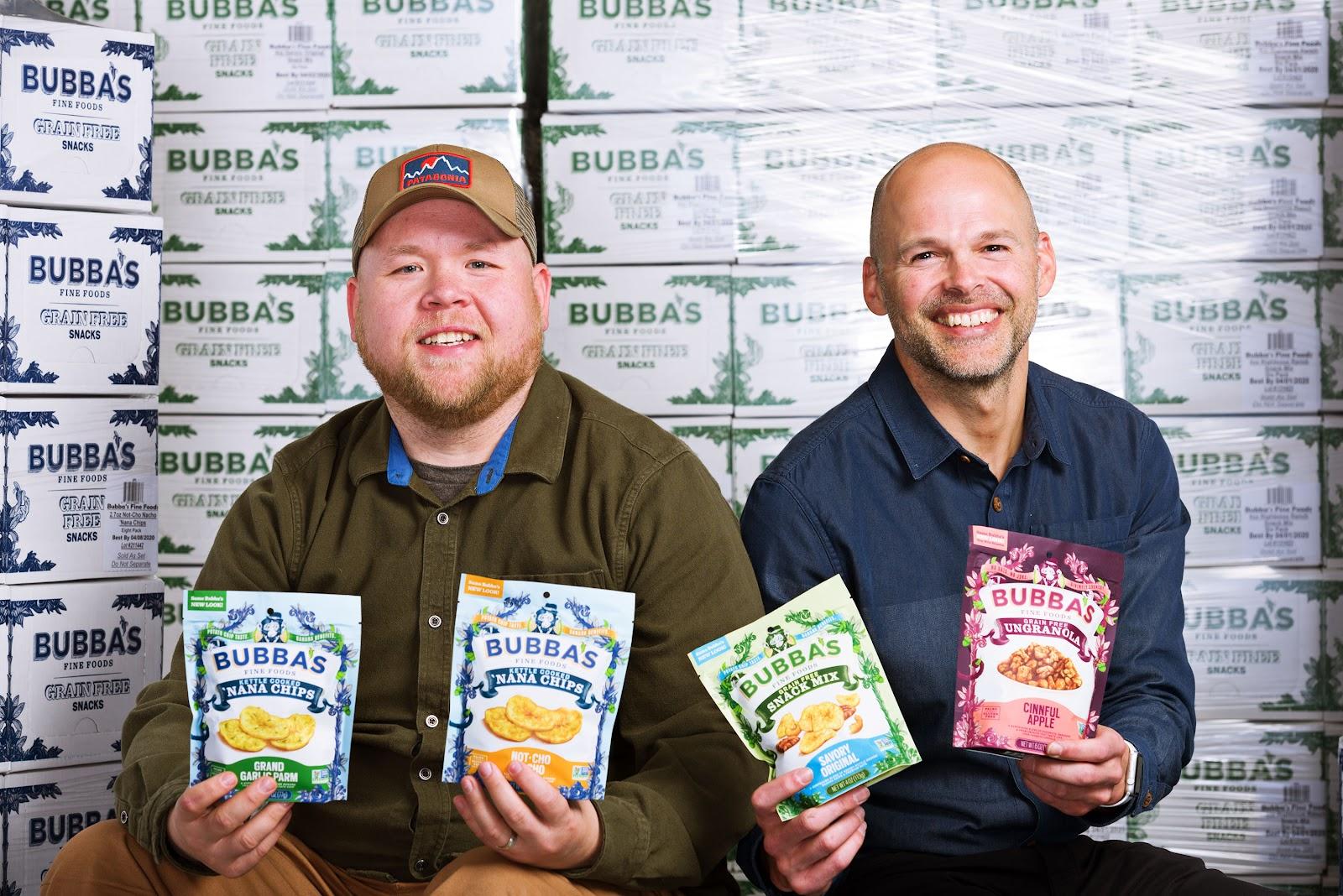 Bubba's Fine Foods owners, Jeff Schmidgall,