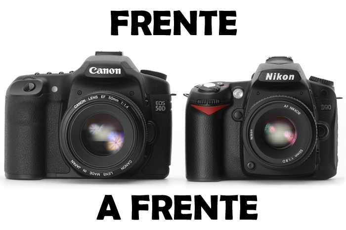 Canon 50D VS Nikon D90 | Distancia Focal