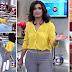 Look da Fátima Bernardes no Encontro dia 3 de junho
