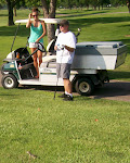 Pone's hitting on the cart girl...notice the chipmunk in the corner
