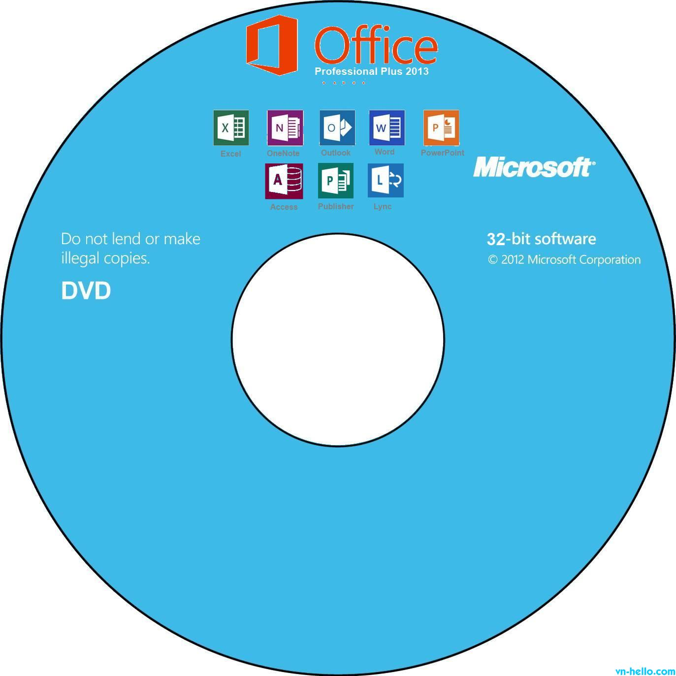 Microsoft Office Pro Plus 2013 RTM (x86/x64) + Activate Method