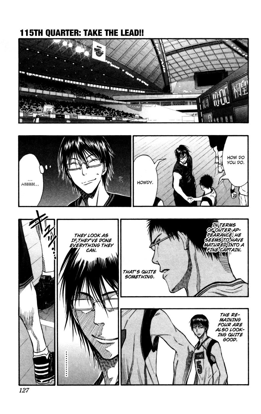 Kuroko no Basket Manga Chapter 115 - Image 1