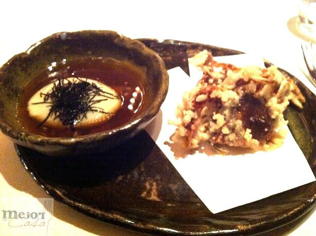 Cangrejo de concha blanda Icho Mejor en casa restaurante en casa
