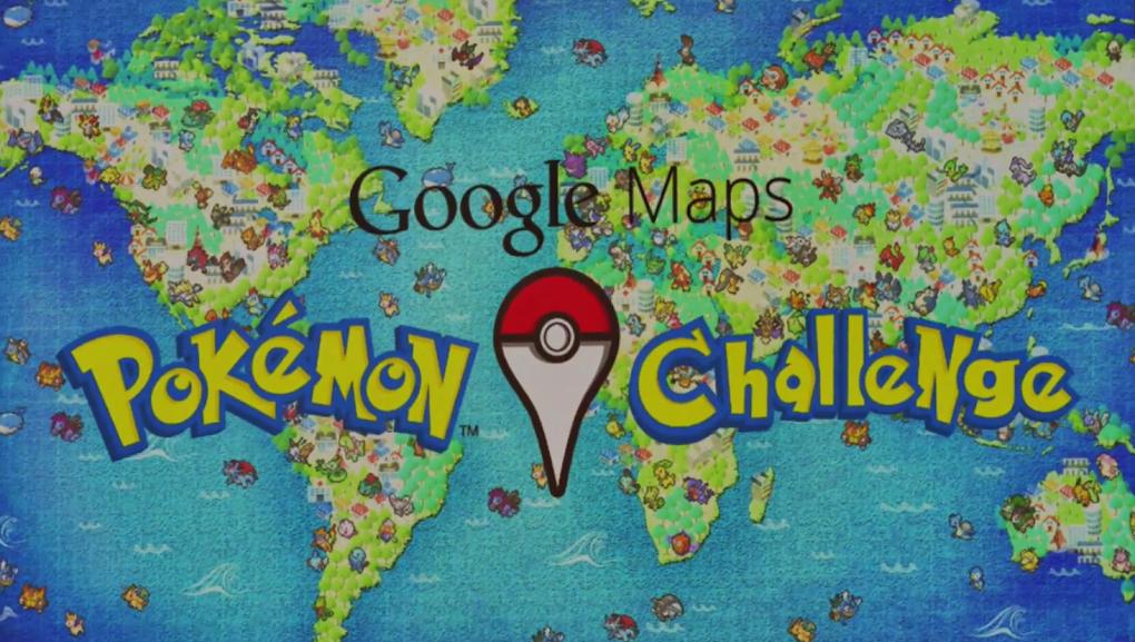 Google Maps Pokemon Challenge