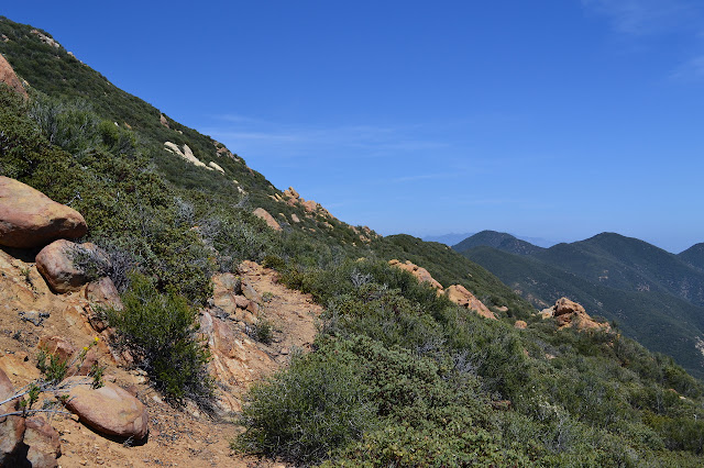 the west end of Ocean View Trail