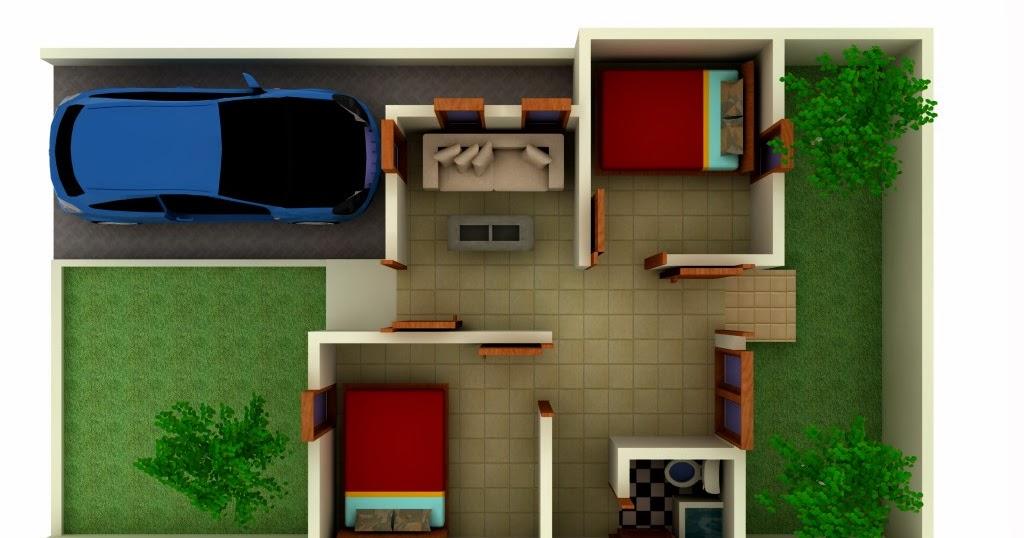 Desain dan penataan interior ruangan rumah type 36 yang ...