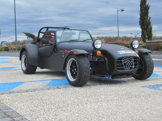 sevener lotus seven caterham co vendue r500k lhd 23000 km 49k reprise possible. Black Bedroom Furniture Sets. Home Design Ideas