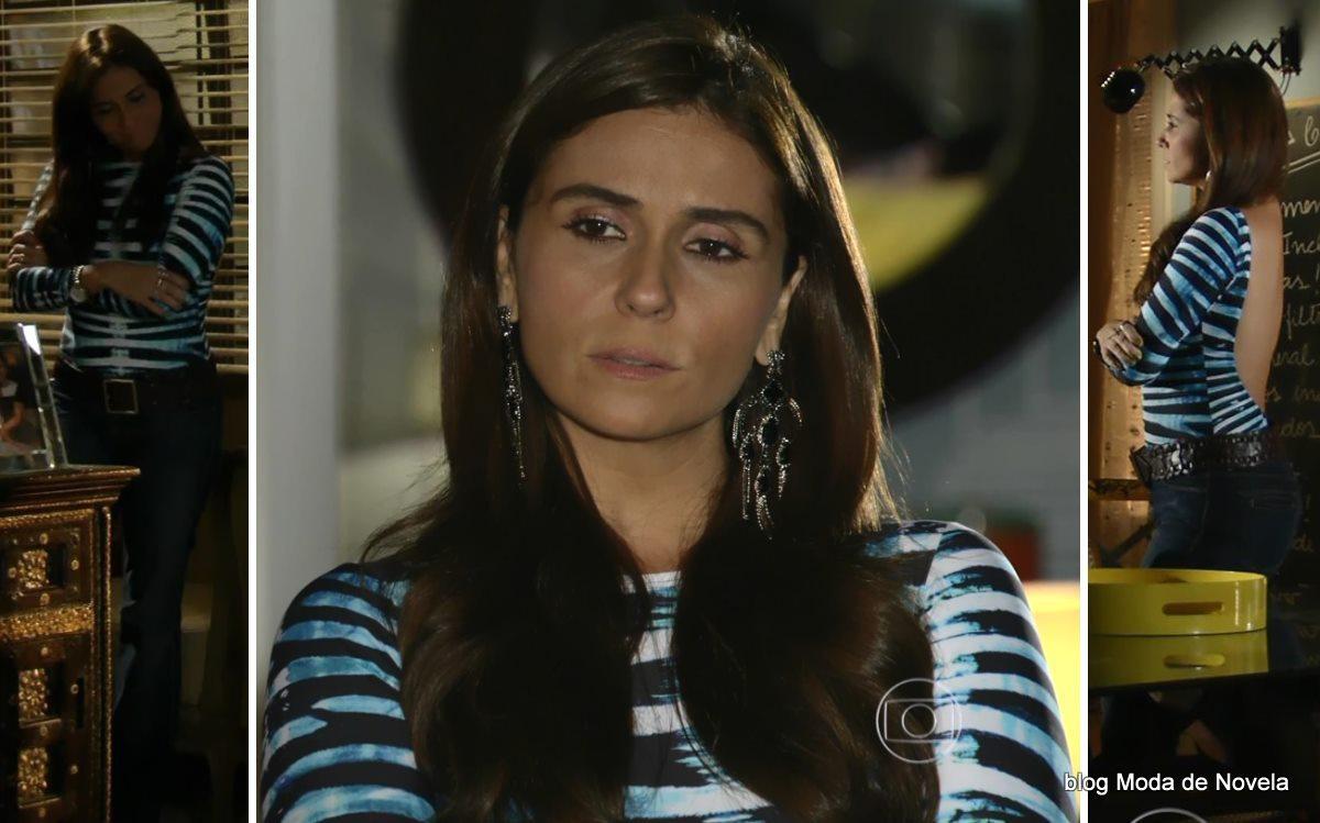 moda da novela Em Família - look da Clara dia 31 de maio