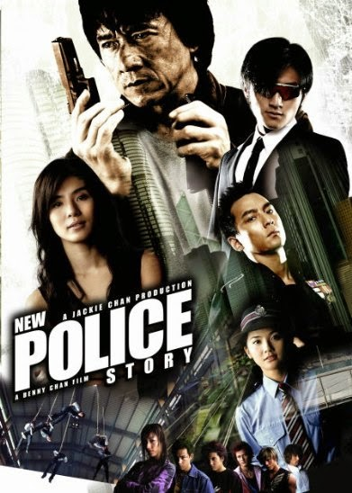 Poster Of New Police Story (2004) Full Movie Hindi Dubbed Free Download Watch Online At Alldownloads4u.Com