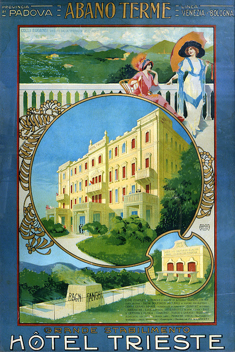 Hotel Trieste & Victoria in Abano Terme, Italy
