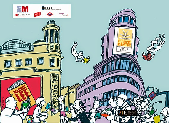 'Libros a la calle 2015' vuelve a promocionar la lectura en el transporte público