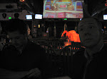 Here we are at Saddle Ranch again, no I will not be riding the bull this time.  Bud Bundy sat right behind Keith.