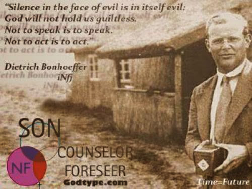 Dietrich Bonhoeffer Paraphrase Quote Not To Vote For Romney Is To Vote For Obama