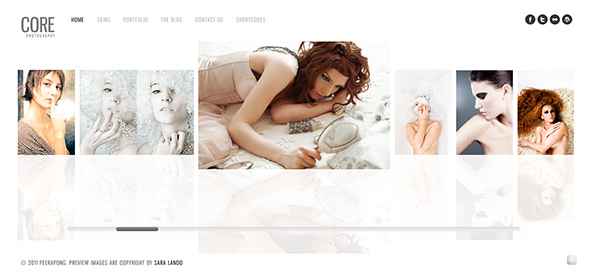 Core WordPress Wedding Theme