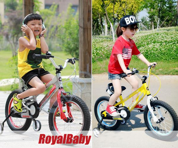 Xe dap tre em RoyalBaby RB17 dep ca tinh Baby Plaza