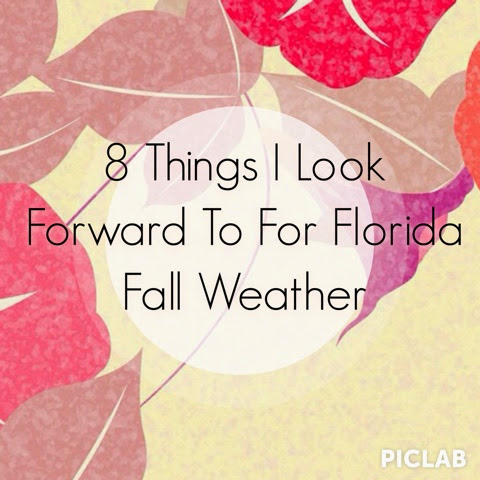 8 Things I Look Forward To For Florida Fall Weather - intrice.blogspot.com