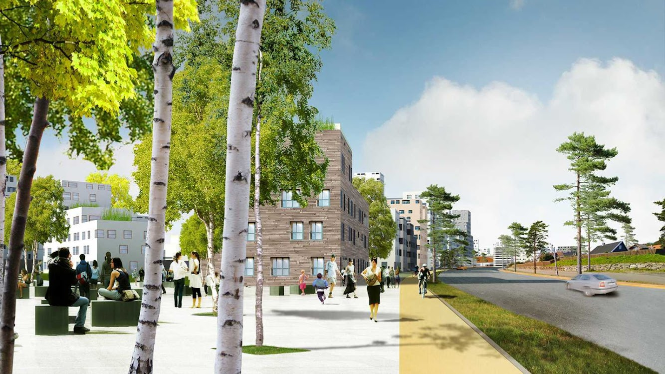 05 Urban Plan for Stavanger by Mvrdv and Space Group