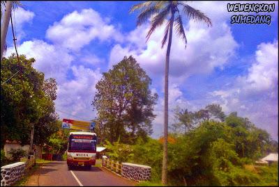 Perbatasan Kabupaten Sumedang - Kabupaten Subang
