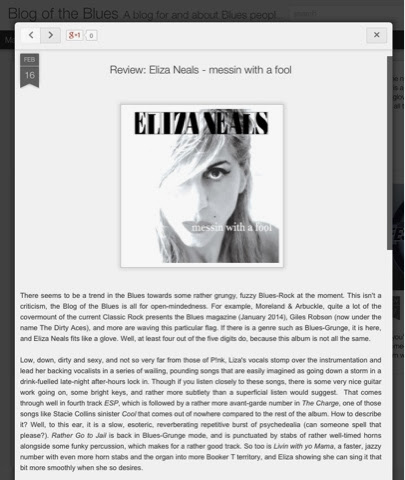 http://blogoftheblues.blogspot.com/2014/02/review-eliza-neals-messin-with-fool.html