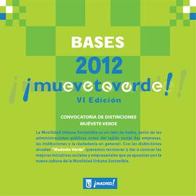 Premios Muévete Verde 2012