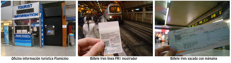 Tickets Tren Roma