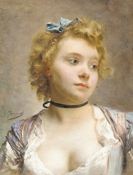 Gustave Jean Jacquet - Portrait of the artist's wife