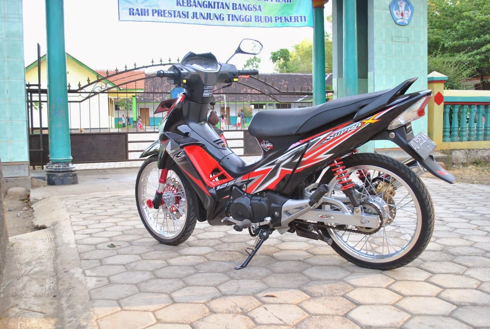 Modifikasi Motor Supra X 125 Minimalis