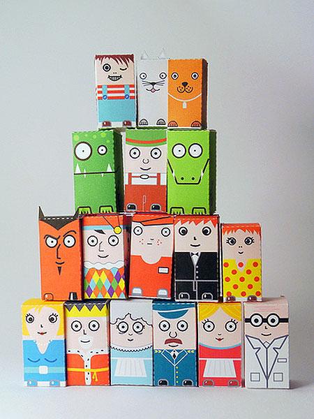 Cubicity Paper Toy