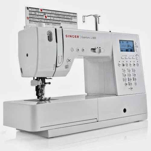 Singer (L500) L-500 Quantum Premium Computerized Long Arm Sewing Machine with 401 Built-in Stitches and Integrated Dual Feed System