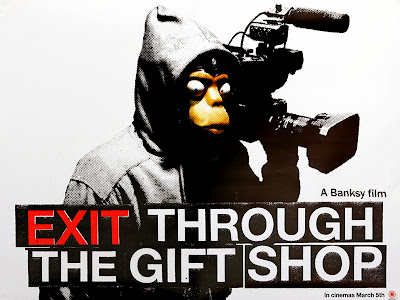 Banksyのドキュメンタリー映画「イグジット・スルー・ザ・ギフトショップ」の画像