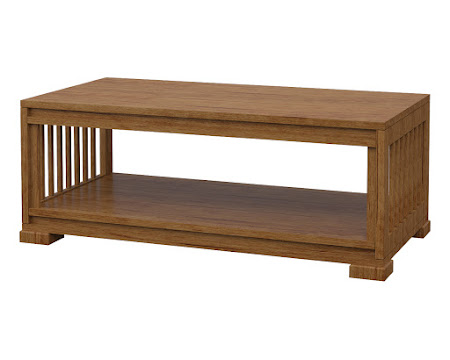 Catalina Coffee Table Como Maple