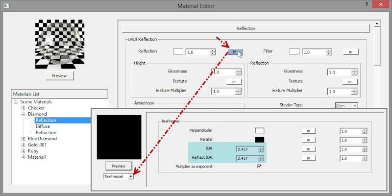 material - V-Ray Material Guide: การกำหนดค่า Refraction IOR ของวัตถุรูปแบบต่างๆ Refract_type_15