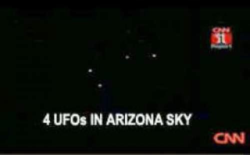 Latest Ufo Sighting In Arizona Similar To Phoenix Lights