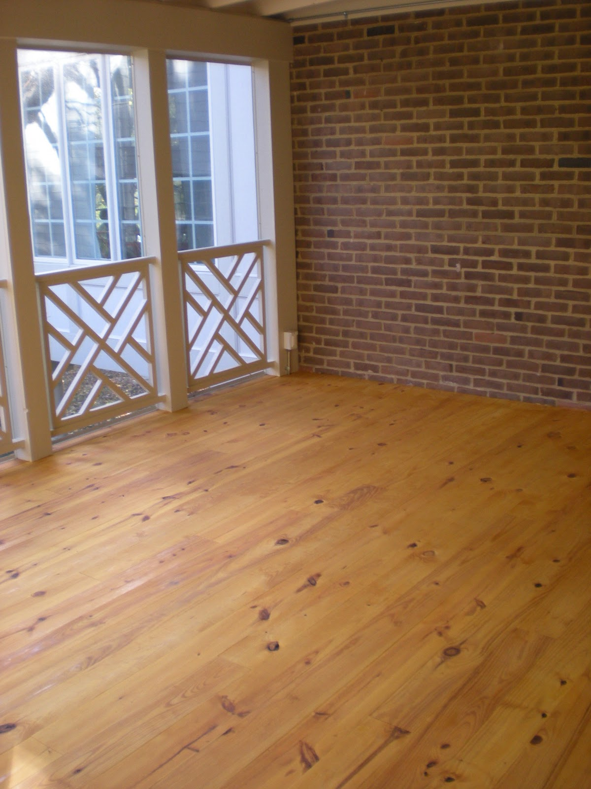 All about vignettes the screened porch redo - Exterior painting in cold weather ...