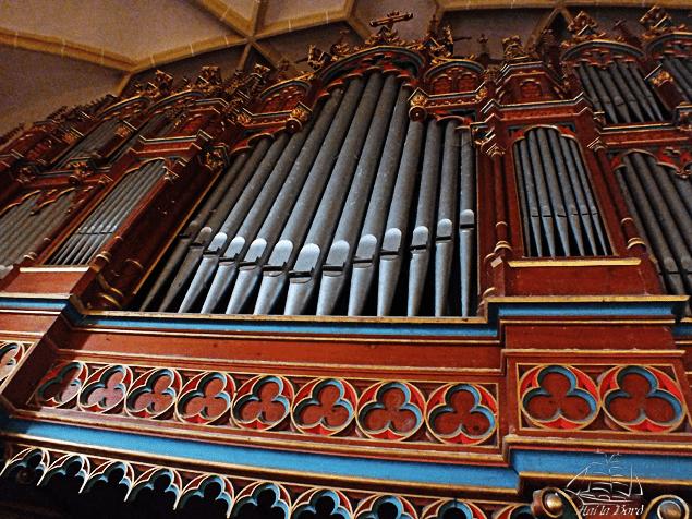 orga bazilica cincu
