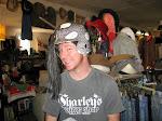 The mohawk helmet