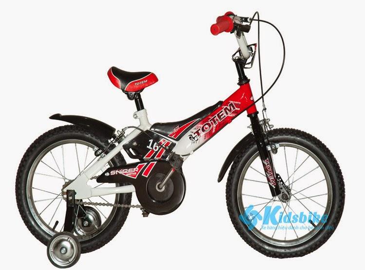 Xe đạp Totem TMA màu đỏ đen