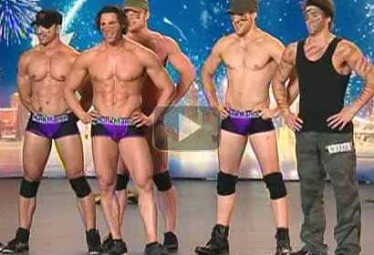 HunkMania Male Strippers - Australia's Got Talent 2012