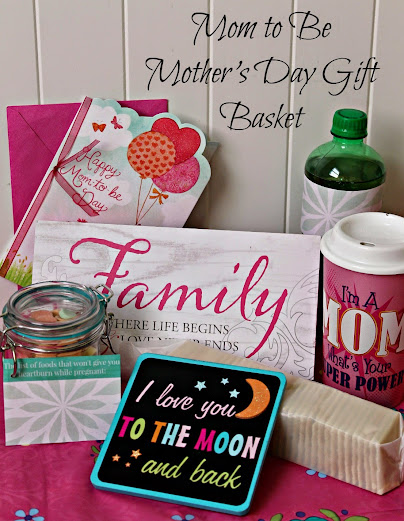 Mommy to Be Gift Basket Ideas for Mother's Day #BestMomsDayEver