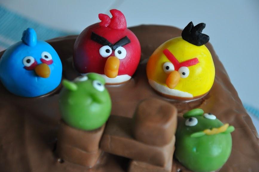 Angry Birds i marsipan
