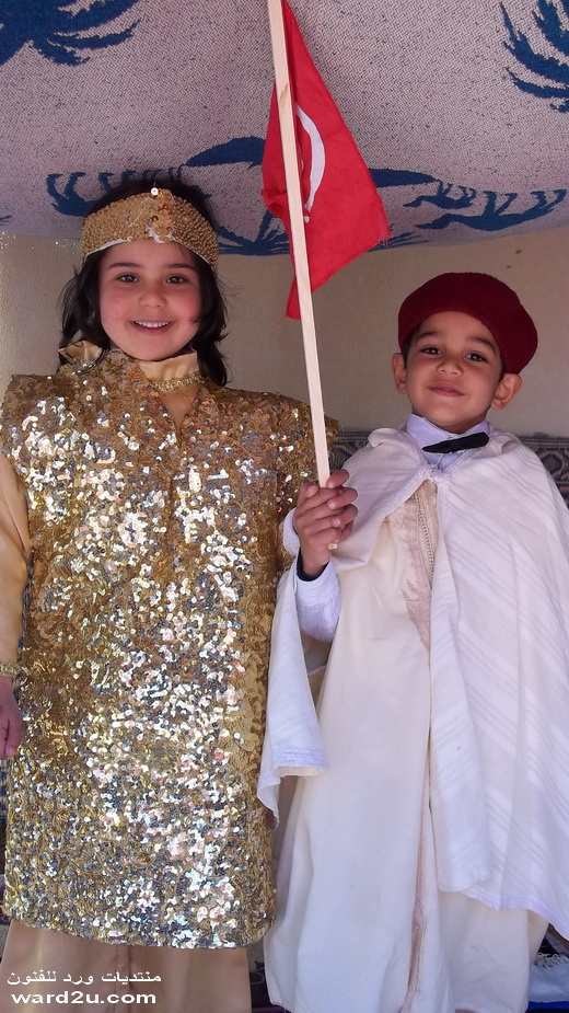 رحمه في يوم اللباس التقليدي التونسي