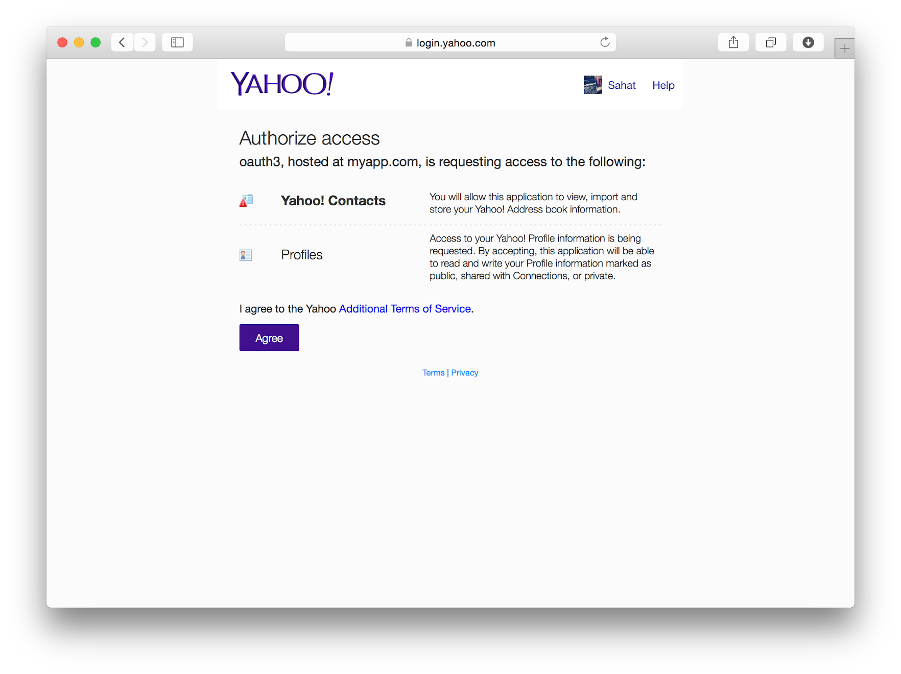 Implementing yahoo oauth 20 authentication yahoo developer network when a user clicks agree yahoo will redirect back to the redirecturi specified above plus the code parameter eg authyahoo callbackcodebkwsqf8 baditri Gallery
