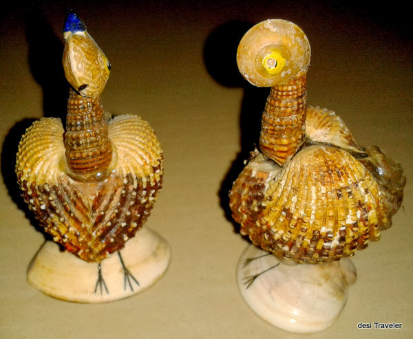 Sea shell handicrafts shopping in goa