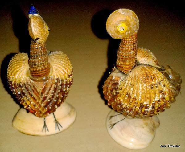 Sea shell handicrafts shopping in goa