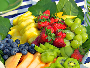 How to host a playdate - prepare fruit!