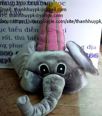 bán và cho thuê mascot con voi xấu xí